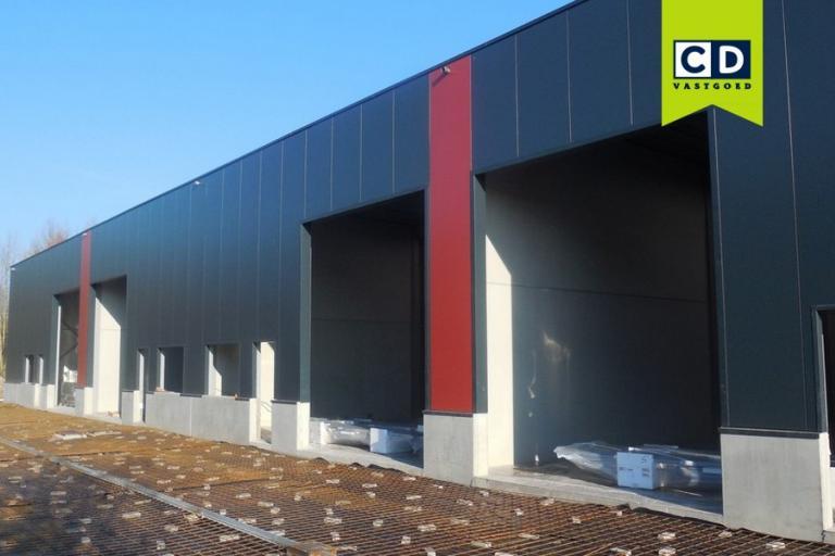 Nieuwbouw bedrijfsunits te koop in Reel Park in Petegem