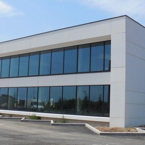 nieuwbouw site Toyota in Willebroek