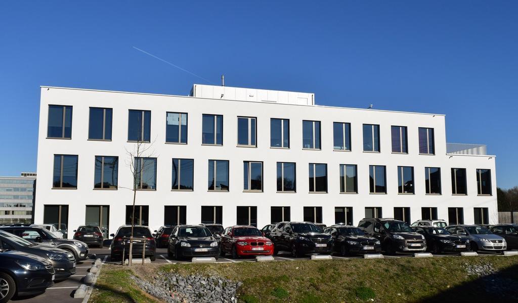 Nieuwbouw kantoren te koop project Forum in Gent